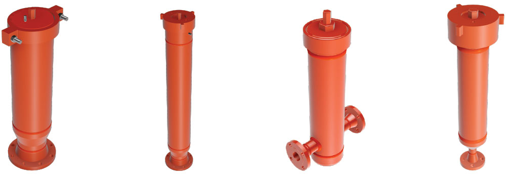 Pulsation Dampeners - Discharge Pulsation Dampeners - Suction Pulsation Dampeners - Piston Pump Stabilizers - Plunger Pump Stabilizers